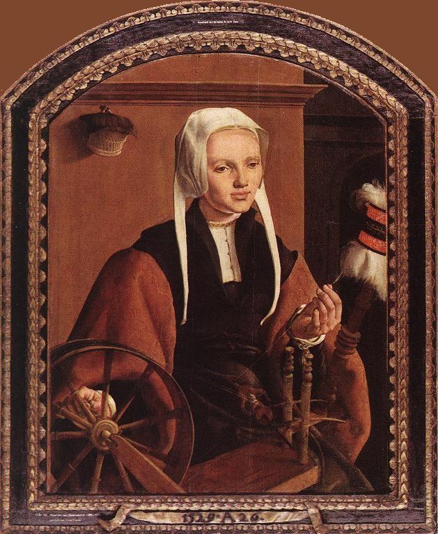 portrait of anne codde 1520 Heemskerck Maerten van
