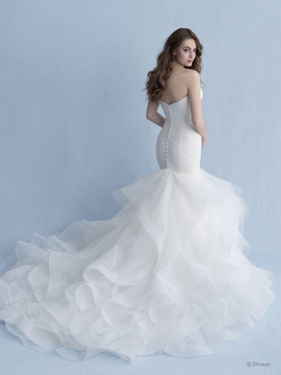 Style D260 Ariel Allure Bridals Ruffle Wedding Dress Fairy Tale Wedding Dress Wedding Gowns Mermaid [ 1200 x 900 Pixel ]