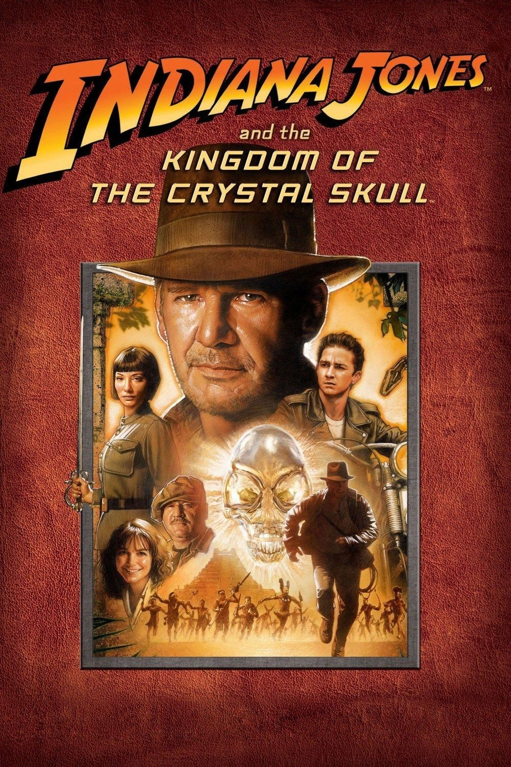 Image result for indiana jones and the kingdom of the crystal skull 2008 poster