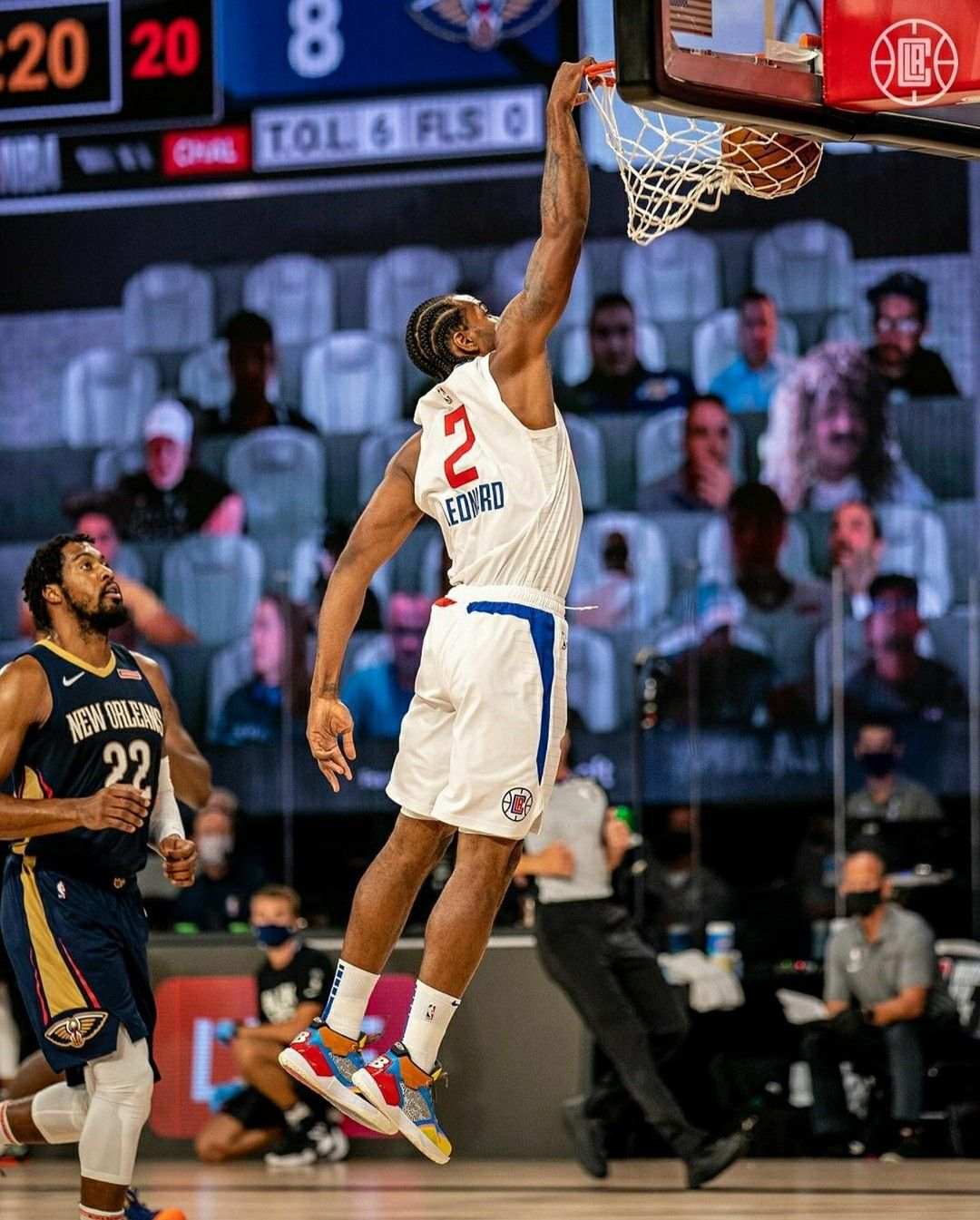 Kawhi With The Dunk In 2020 Basketball Highlights Sports Jersey La Clippers