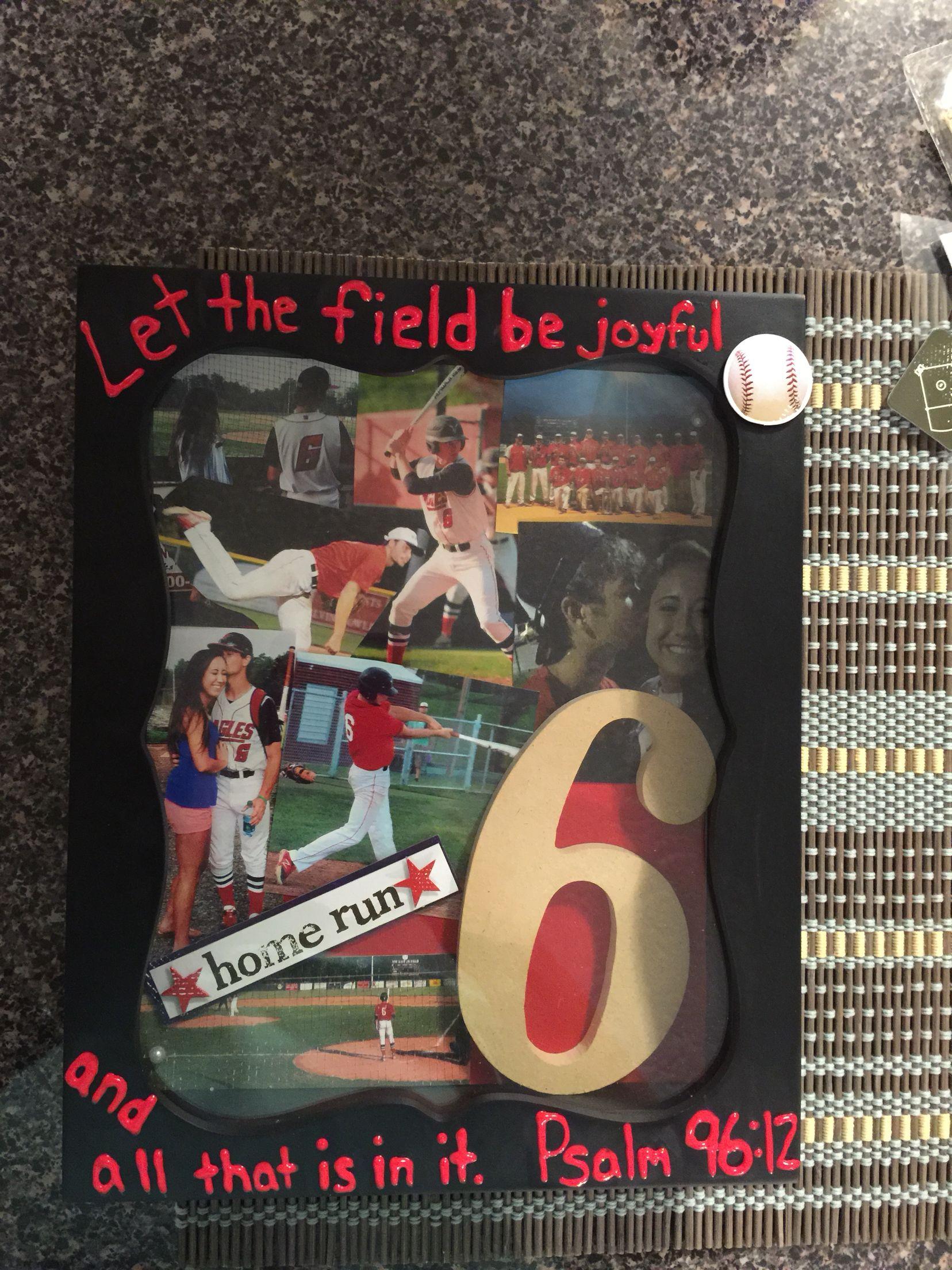 Anniversary Gift For Baseball Boyfriend Baseball Boyfriend Gifts Diy Gifts For Boyfriend Girlfriend Anniversary Gifts