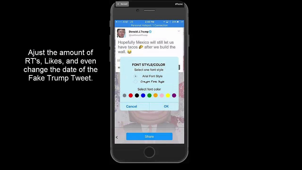 Fake Trump Tweet Little Trump Update Trump Update Trump Tweets Trump
