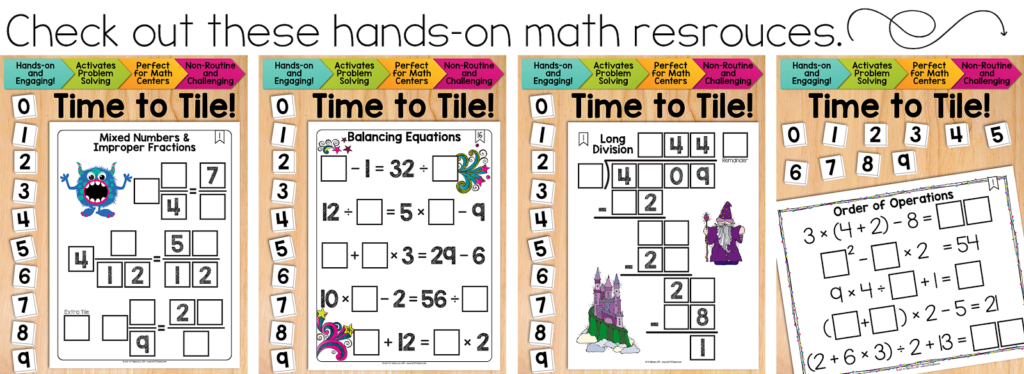 Standards for Mathematical Practices {Free Posters