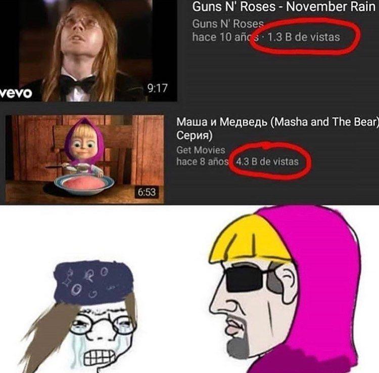 Masha Y El Oso Gets The Girl Memes Para Reirse Memes Memes De Risa