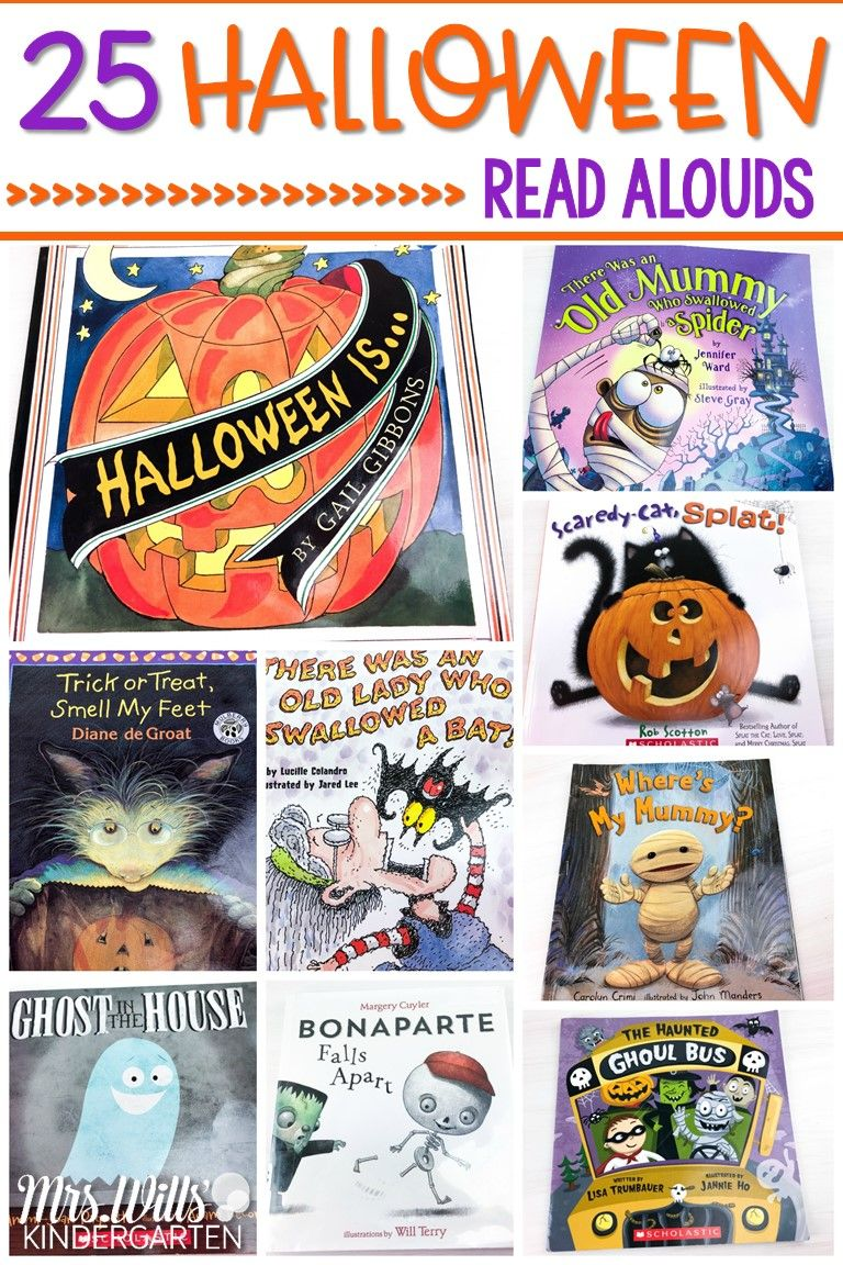 25 Halloween Read Alouds for Your Primary Classroom Read