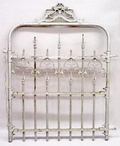 Gate Cast Iron Rogers Fence Co Gothic Design 47 Iron Garden Gates Garden Gates Wrought Iron Fences