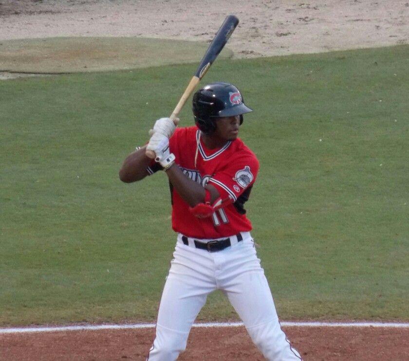 Luis Aviles Carolina Mudcats Minor League Baseball Baseball