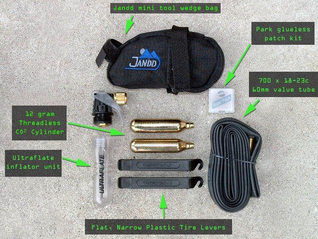 Tri Bike Repair Kit Kit Bag Mini Tool Bag