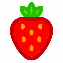 Food Fruit Meal Strawberry Vegie Icon Fruit Fruits And Vegetables Dwi