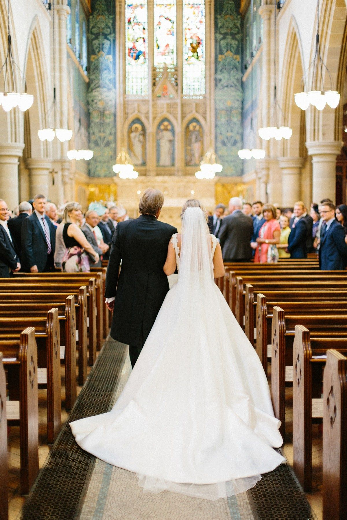 A Pronovias Bride And Her Clean Simple Chic Country House Wedding