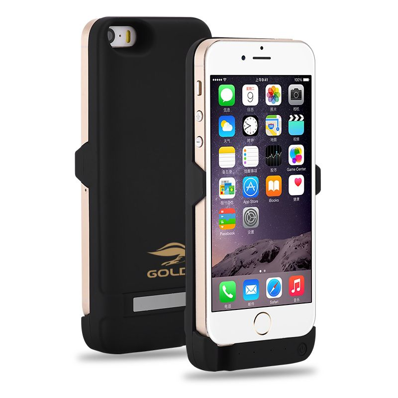 best website 4d1cd 720ce GOLDFOX External Rechargeable Battery Charger Case for iphone 5 5S ...