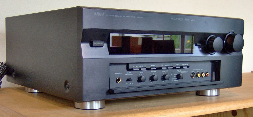 Yamaha DSP-A1, the first receiver/integrated amplifier with