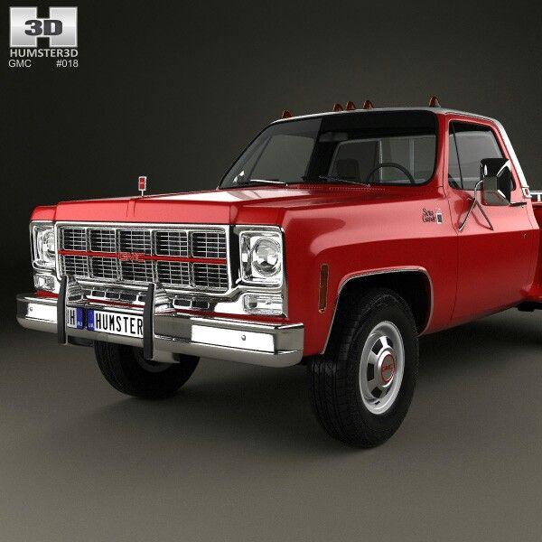 1973 Gmc Sierra: GMC Sierra Grande 454 Pickup 1979