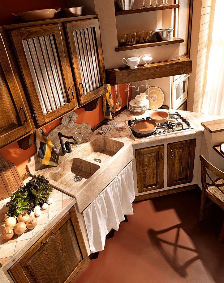 Cucine in muratura cucina paolina di oggi d da zappalorto kitchen ideas pinterest - Cucine country in muratura ...