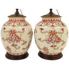 19thC Chinese Export Lamps