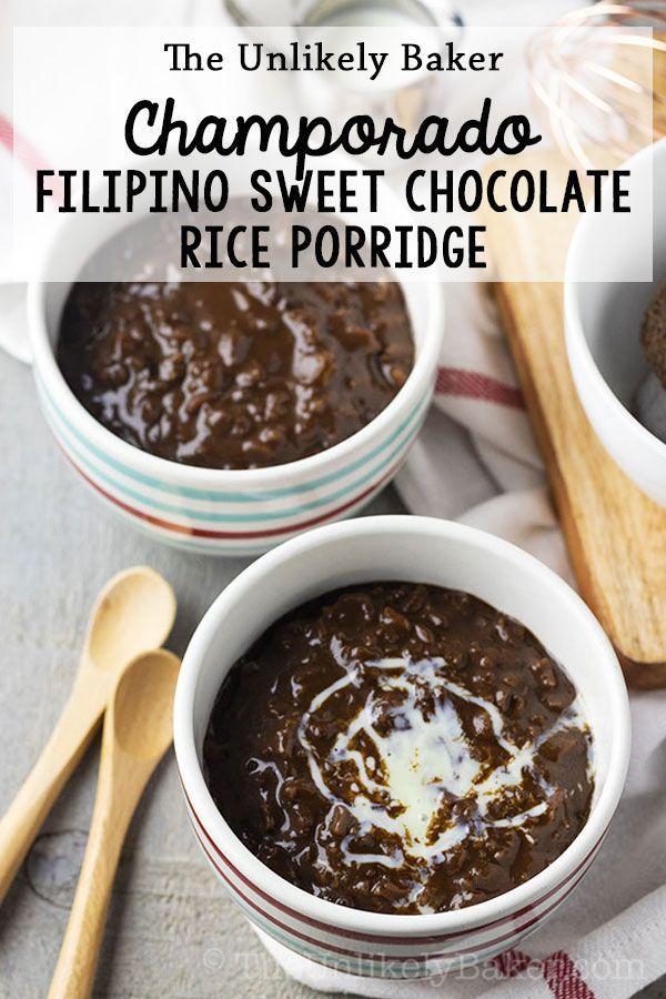 Champorado Recipe (Filipino Chocolate Rice Porridg