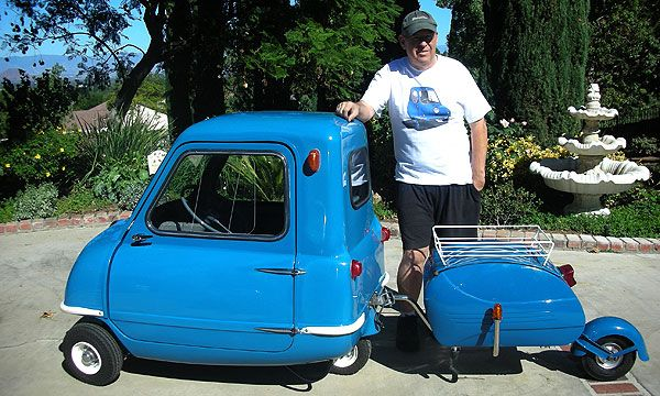 peel p50 the smallest world s car is back travel trailers mobile homes cars trucks and. Black Bedroom Furniture Sets. Home Design Ideas