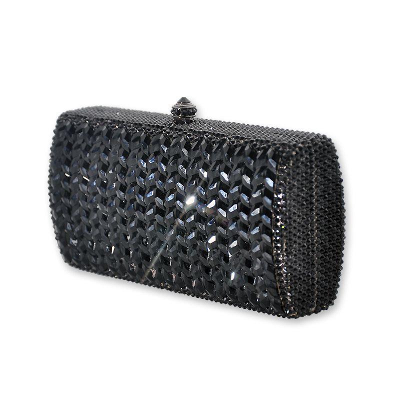 Bourne Crystal Clutch Bag  #crystal, #clutchbag, #black  http://www.playbling.com/en/crystal-clutch-bag/bourne-crystal-clutch-bag.html