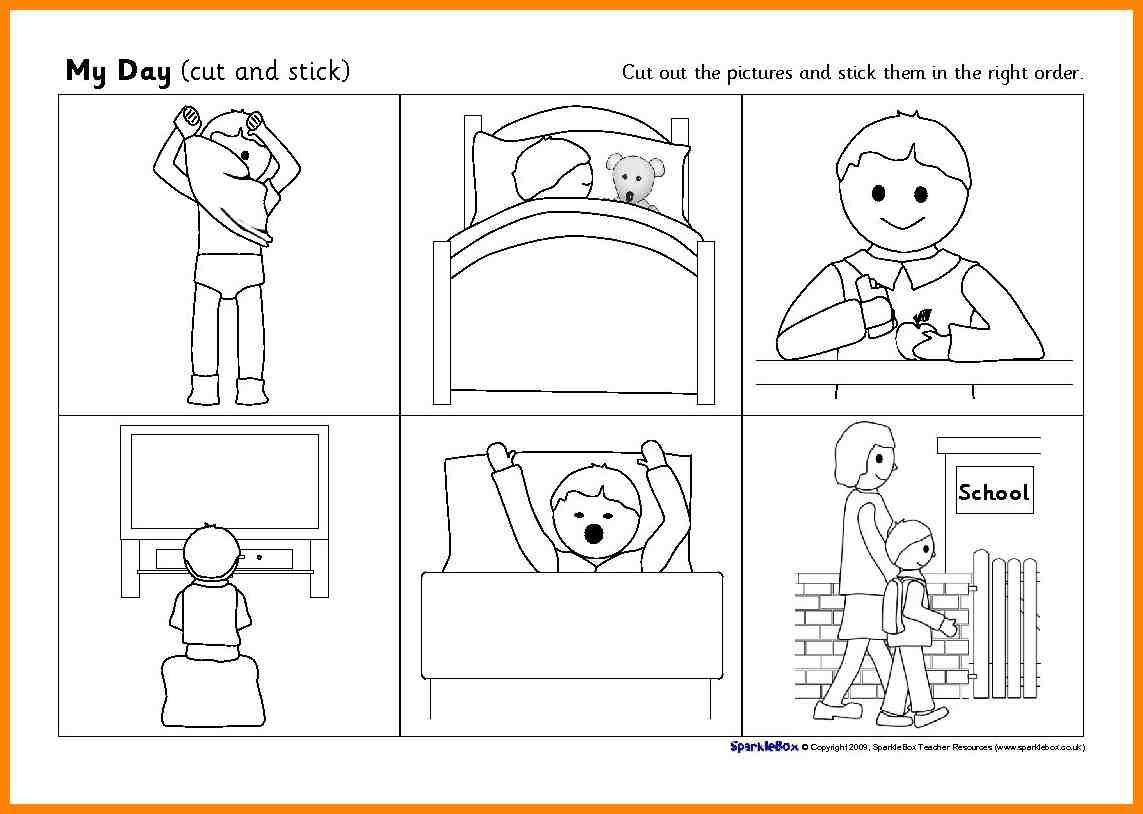 Worksheets On Sequencing Events