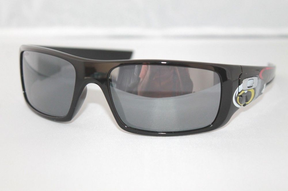 c0251962f9 Oakley Crankshaft Troy Lee Sunglasses OO9239-18 Polished Black W  Black  Iridium  fashion