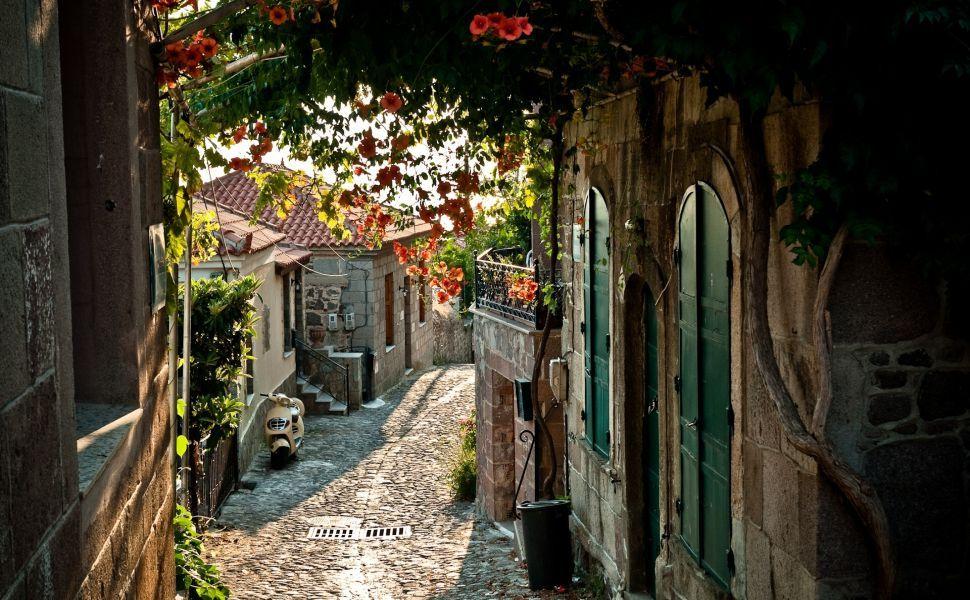 Street in Provence HD Wallpaper