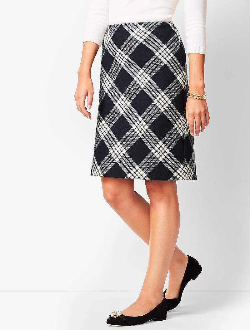 20d311d88 Twill A-Line Skirt - Country Plaid   Shopping   Skirts, A line ...