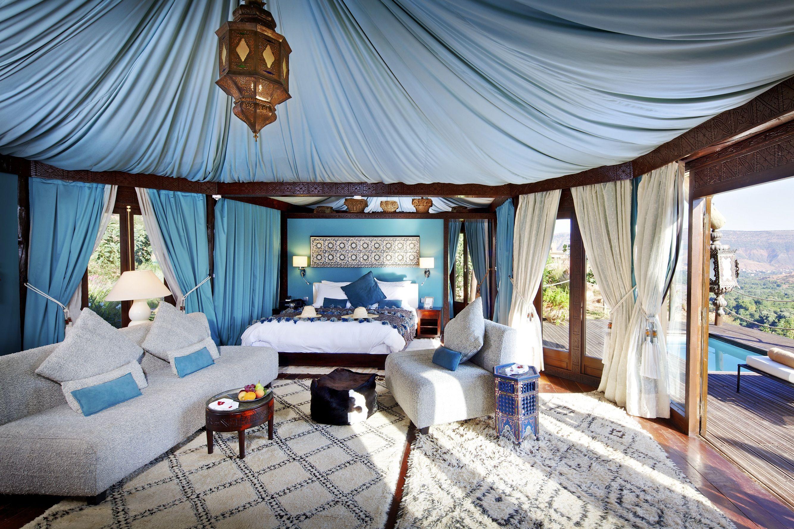 Morrocan tent interior