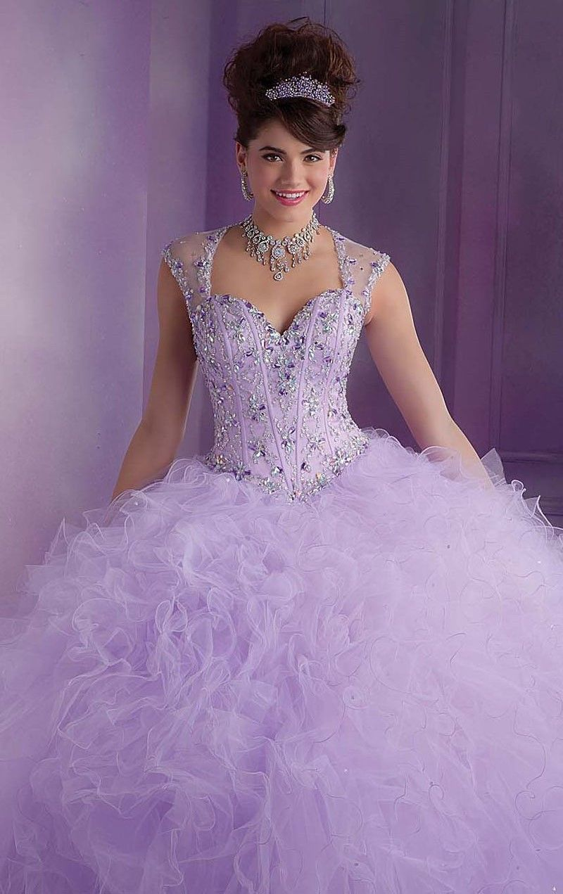 820d7a35c2e Dress Quinceanera 2014 Free Shipping Ball Gowns Light Purple Princess Quinceanera  Dresses with Cap Sleeves  199.16