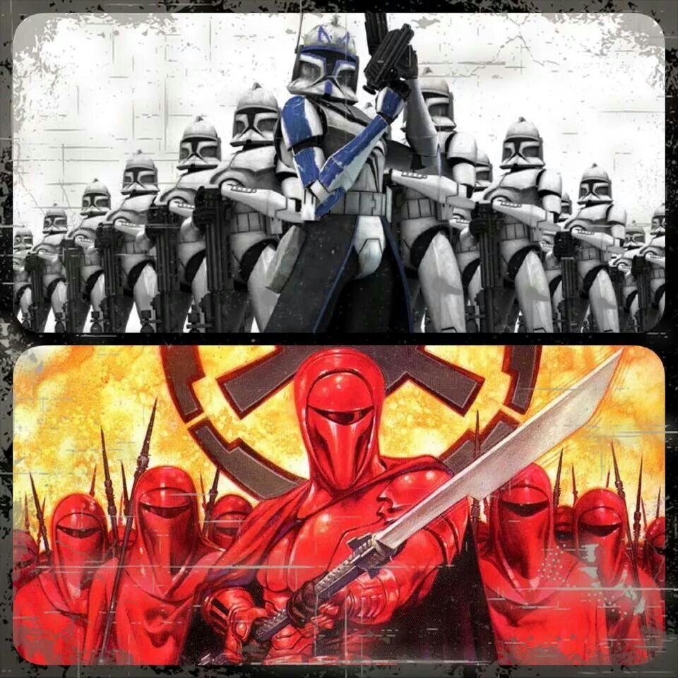 501st vs Royal Guards