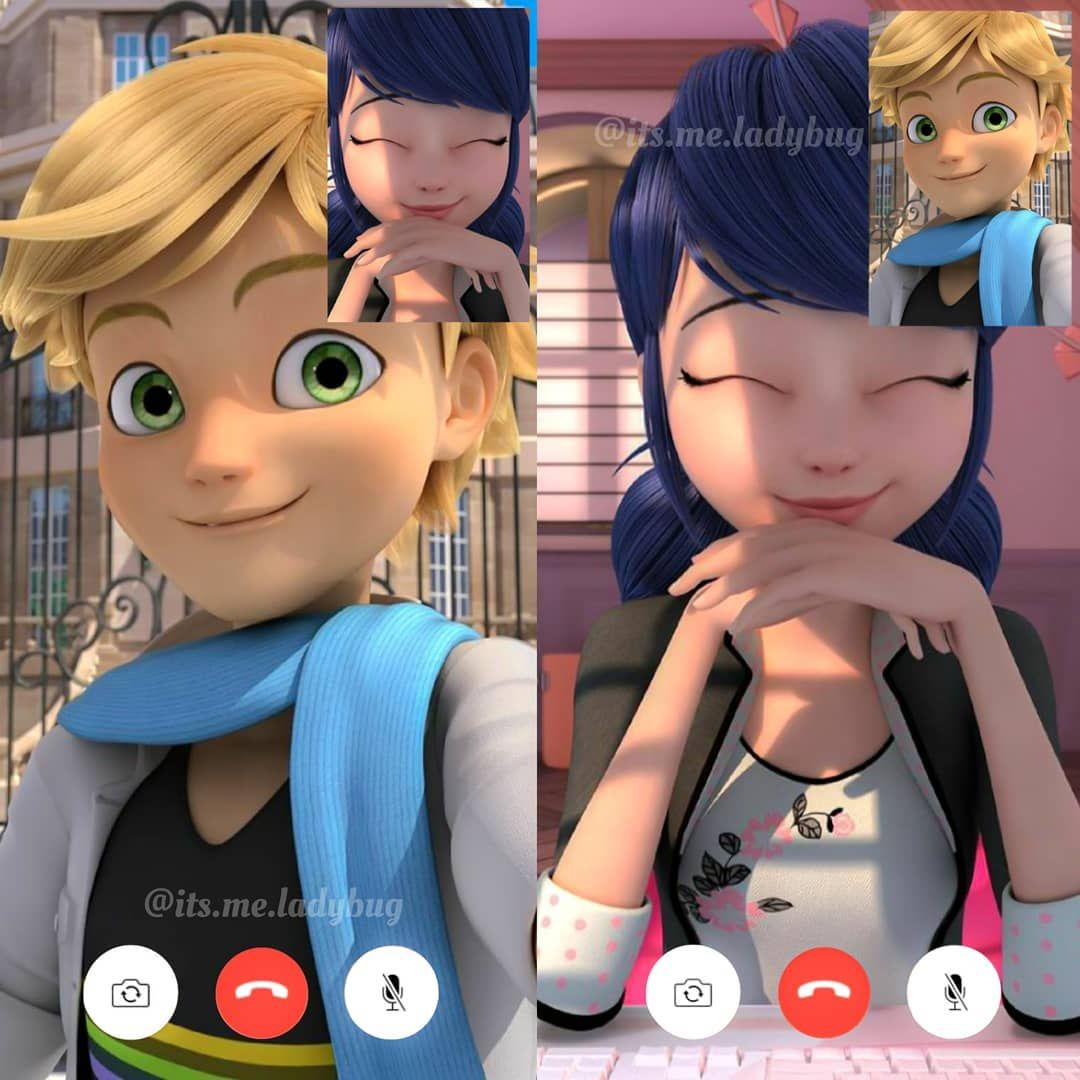 "𝐂𝐚𝐥𝐥 𝐦𝐞 𝐋𝐚𝐝𝐲𝐛𝐮𝐠 | 🐞 on Instagram: ""Video call between Adrien & Marinette ♡ ⠀⠀ ⠀ ----------- ♡ ----------⠀ ⠀⠀ ⠀⠀ ⠀⠀ ⠀ >  Don't steal 