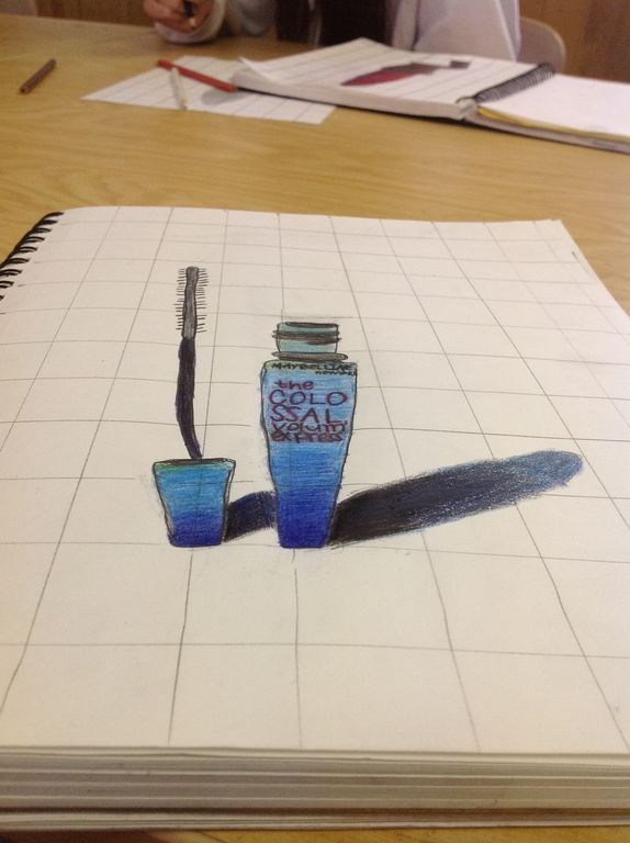 The Art 1 students are starting off with Anamorphasis drawings for our Pespective unit. Students chose an ordinary object and disto...
