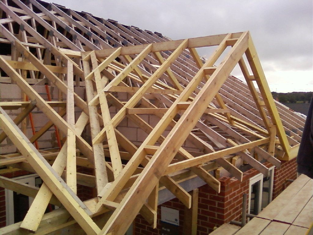 A Small Cut Dormer Roof From The UK   Carpentry Picture Post .