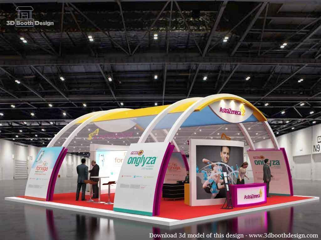 Exhibition Stall 163 3d Model In 2020 Exhibition Stall Design Exhibition Stall Stall Designs