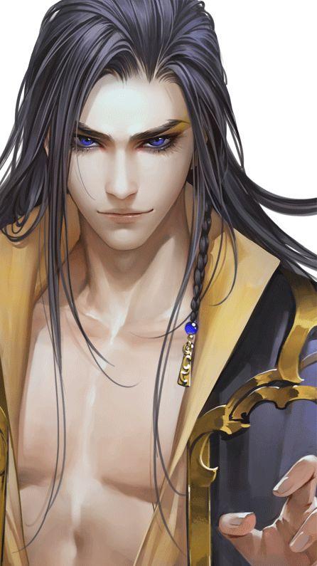 Chinese fantasy male art