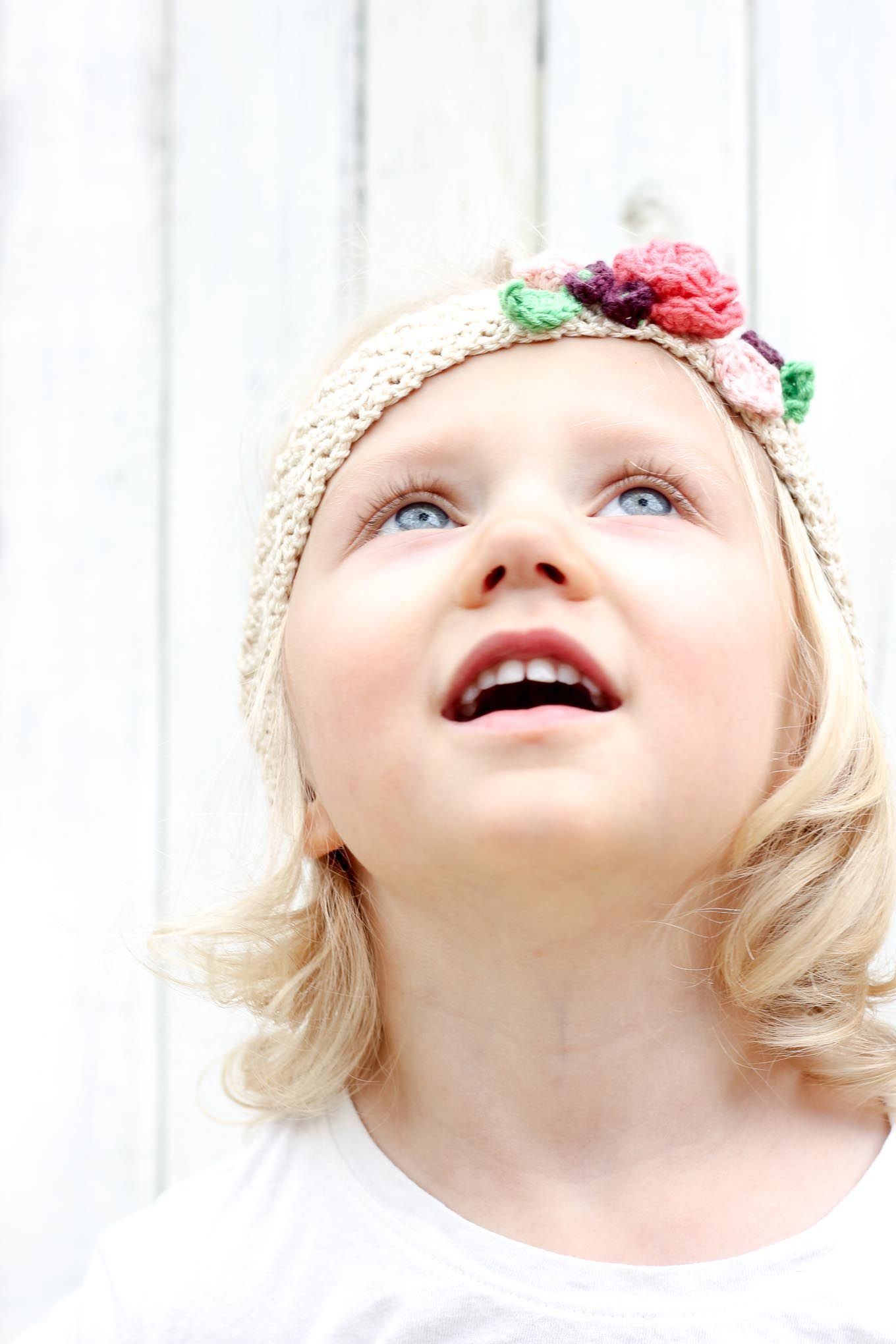 Free Crochet Flower Headband Pattern (Baby, Toddler, Adult ...