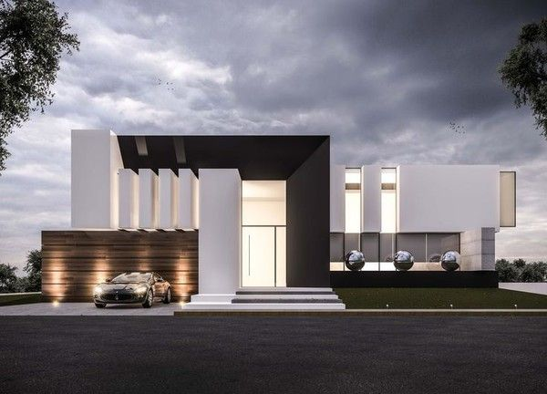 Kristalika top modern villas pinterest architecture for Jc house architecture modern facade