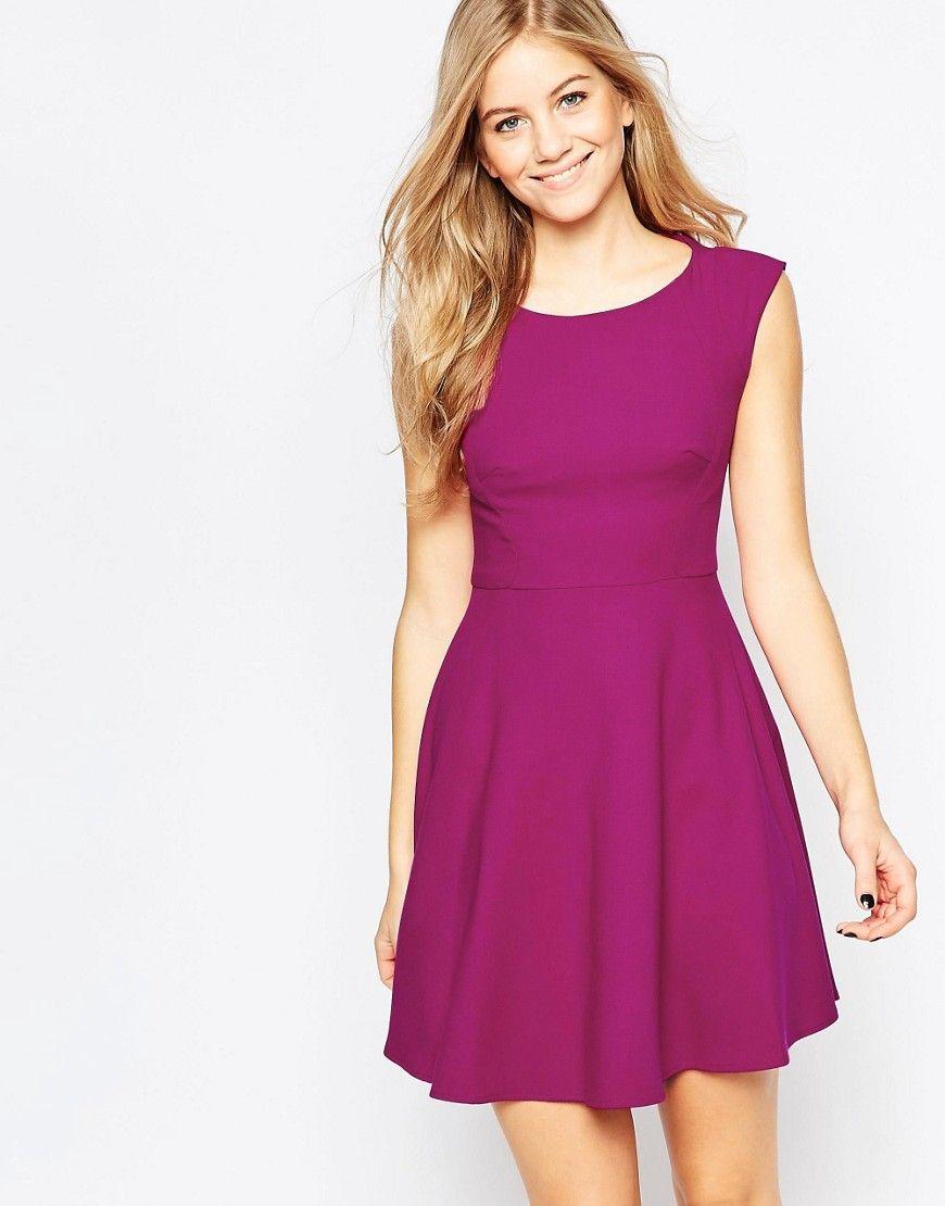 Compra Vestido informal de mujer color rosa de French connection al mejor  precio. Compara precios de vestidos de tiendas online como Asos - Wossel  España