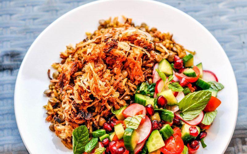 Mujaddara Recipe - this healthy table