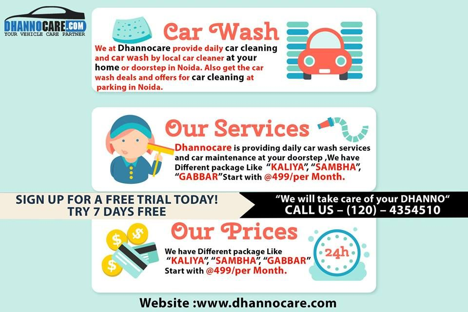 Car Wash Deals >> Car Cleaning Wash At Your Doorstep Dhannocare