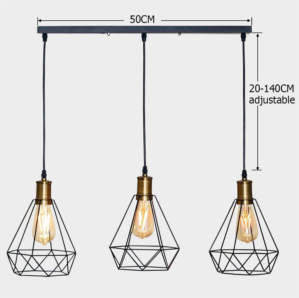Vintage Cage Pendant Light Buy Cage Pendant Light Industrial Hanging Lights Light Fixtures