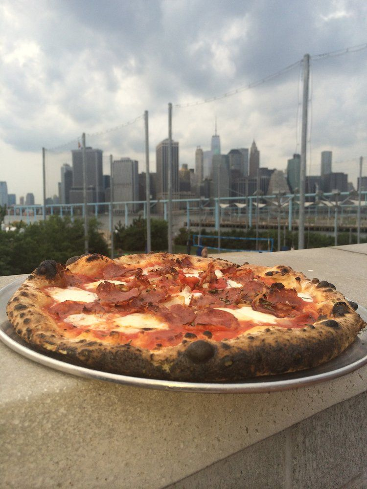 Pizza With A View In Nyc Food Nyc Pie
