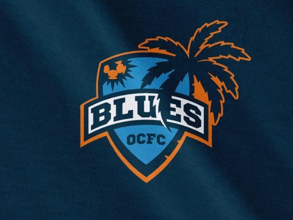 Orange County Blues Fc Sports Logo Inspiration