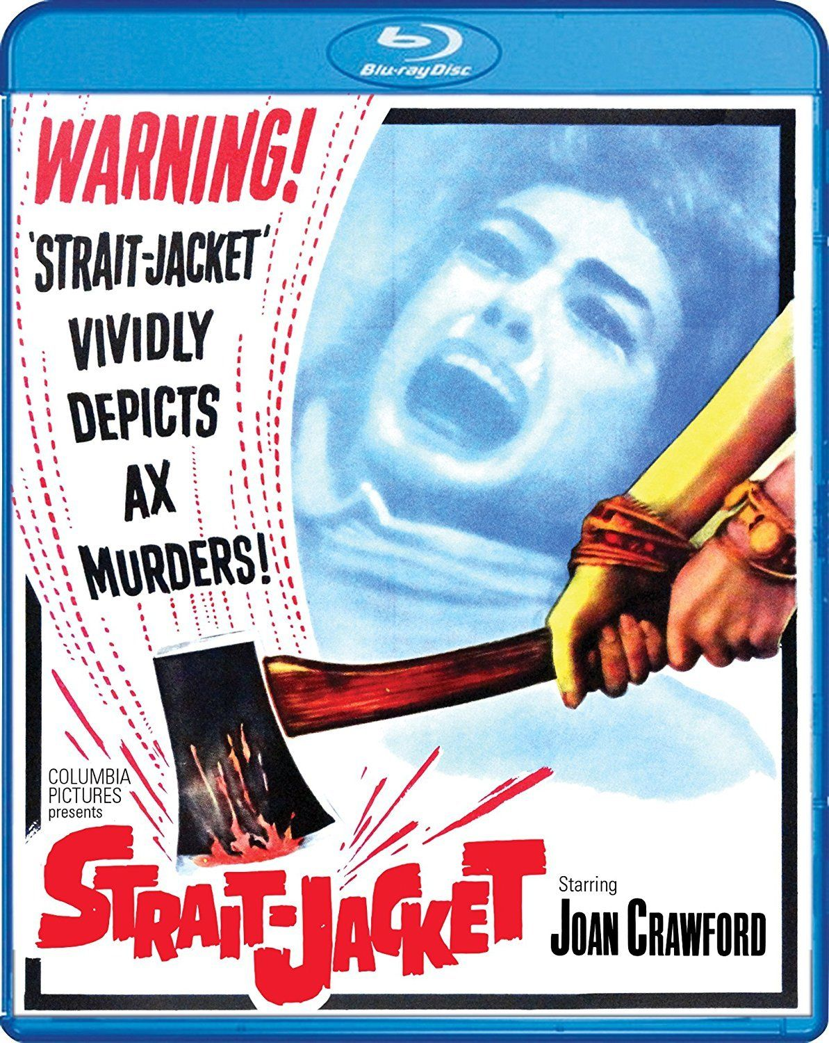 Ryne Attempts To Avoid The Ax With This Review Of Strait Jacket On Blu Ray From Scream Factory Film Review Blu Ray Blu