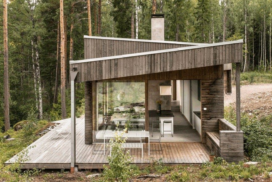 Dalarna House in Sweden by Dive Architects