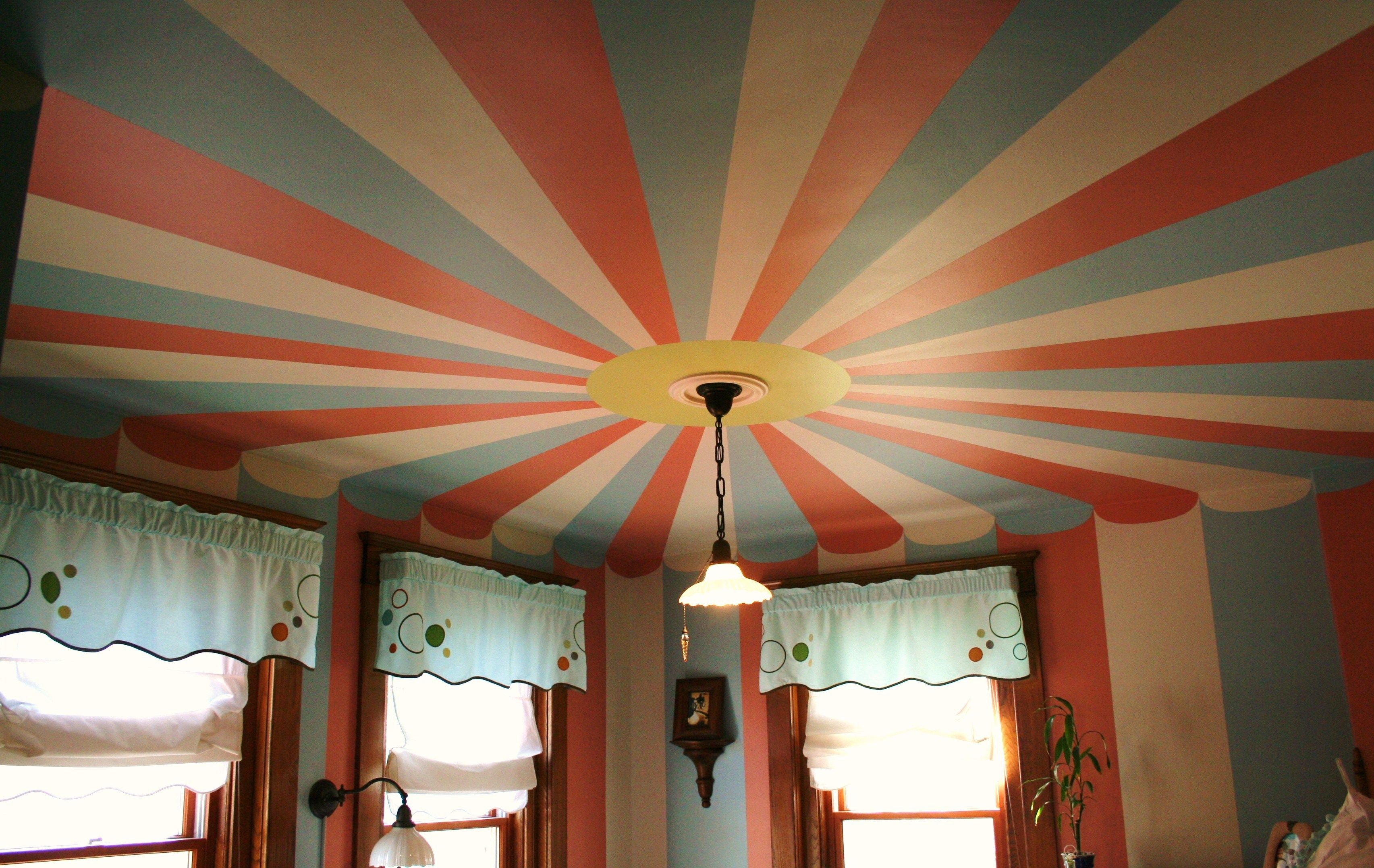 Circus tent painted ceiling | Domain | Pinterest | Paint ceiling ...
