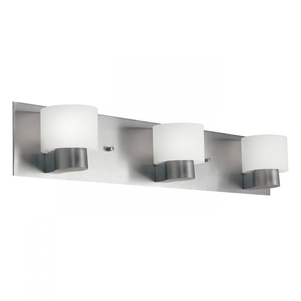 Three Light Brushed Nickel Vanity : SKU V2 10403ni   Timberlake Lighting.  BadezimmerlichtBadezimmerlichtBadezimmer ...