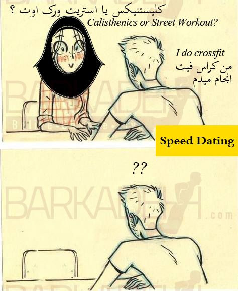 Speed dating troll