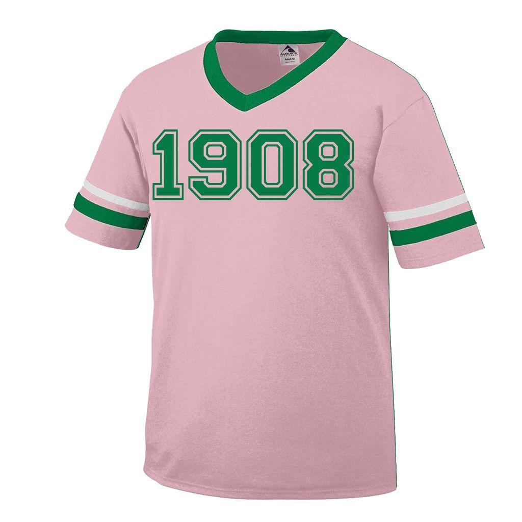 Alpha Kappa Alpha 1908 Stripe T-Shirt in 2019 | Alpha Kappa