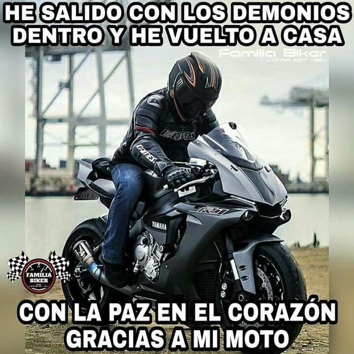 Pin De Rigoberto En Frases Motos Frases Moteras Motos