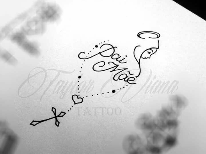 Frases Para Foto Com Pai E Mae: Tatuagens Pai, Mãe E Pai Tatuagem E Tatuagem